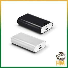 Bateria portátil de alumínio