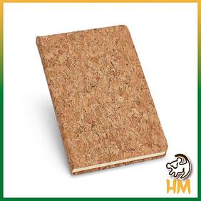 Caderno cortiça A5