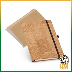Caderno cortiça
