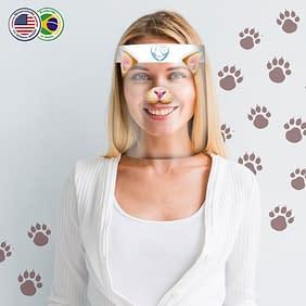 protetor-facial-personalizado-gato