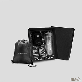 kit fitness com mochila