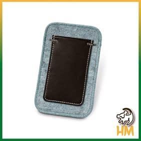 Bolsa para celular com bolso
