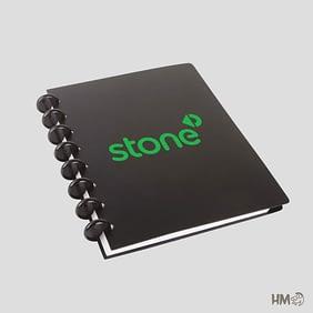 Caderno Inteligente Preto Ecologico