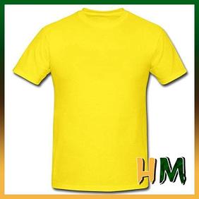 Camiseta Sublime Amarela