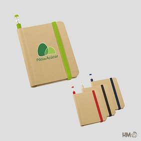 Caderno Ecológico personalizado