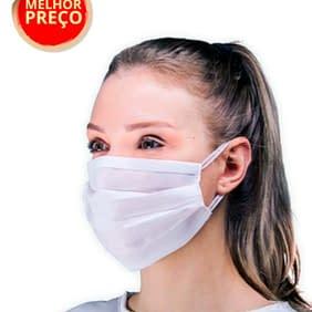Mascara Descartavel TNT Personalizada