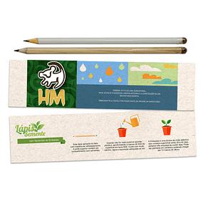 Lápis Ecológico com Semente