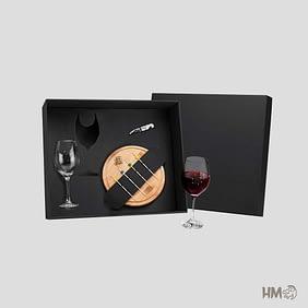 Kit Vinho e Queijo