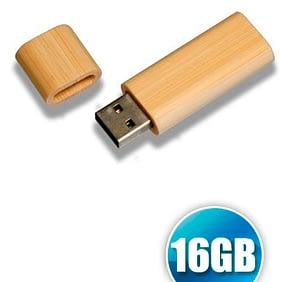 Pen Drive 16gb de Bambu