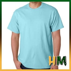 Camiseta Sublime Azul Bebê
