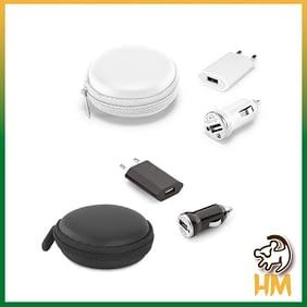Kit de carregadores USB