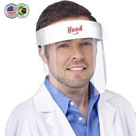 Protetor Facial Com Nome