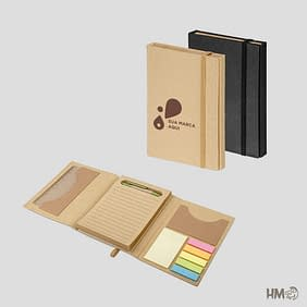 Caderno com Pauta