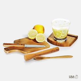 Kit para Caipirinha Bambu