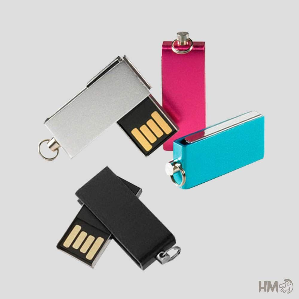 Mini Pen Drive Colorido – PMN