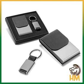 Kit de Porta Cartões e Chaveiro